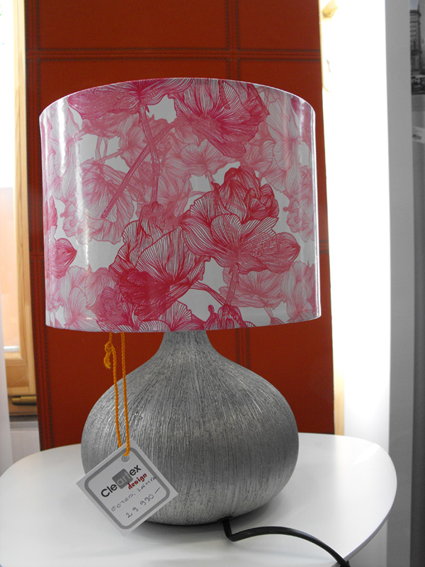 Egyedi lámpabúra