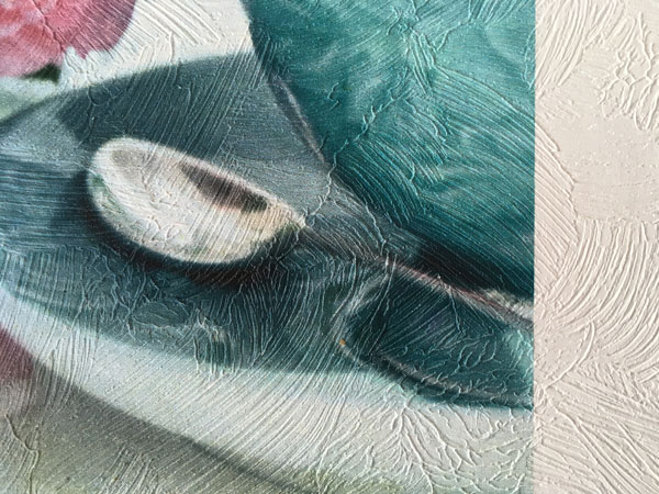 Tapiwall Brush | Festet ecsetvonásos, erősen érdes falfelület hatású vlies tapéta